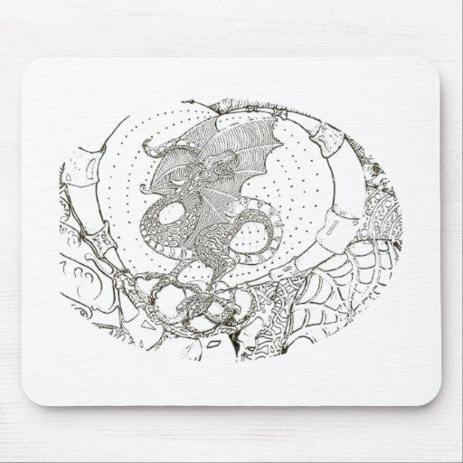 Dragon's lair mouse pad