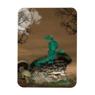Dragons Lair Premium Magnet Rectangle Magnets