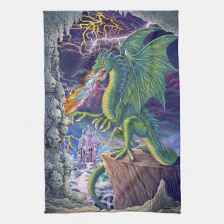Dragon's Lair Towel at Zazzle