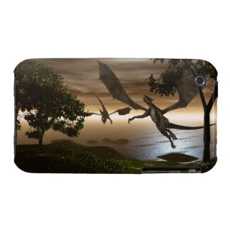 Dragons Lake iPhone 3G/3GS Case-Mate Barely There iPhone 3 Case-Mate Cases