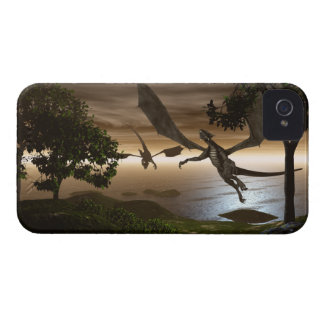 Dragons Lake iPhone 4/4S Case-Mate Barely There iPhone 4 Covers