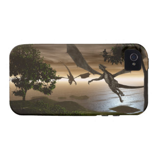 Dragons Lake iPhone 4 Case-Mate Tough Case-Mate iPhone 4 Cover