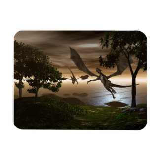 Dragons Lake Large Magnet