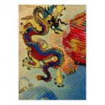 Dragon's Light Large Business Cards (Pack Of 100)