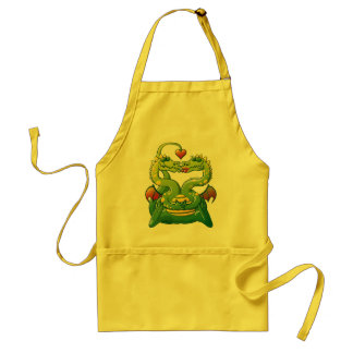 Dragons Madly in Love Adult Apron