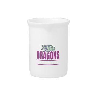 DRAGONS MASCOT DRINK PITCHER