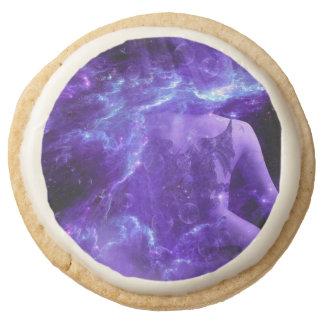 Dragon's Mate's Dreams Round Shortbread Cookie