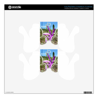 Dragon's Mouth Orchid Arethusa bubosa PS3 Controller Skin