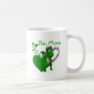 Dragons Need Valentines Too! Classic White Coffee Mug