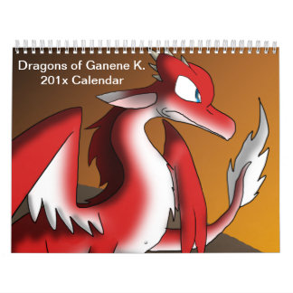 Dragons of Ganene K. Calendar 1