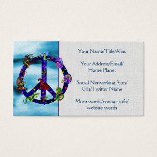 Dragons Of Peace Business Card