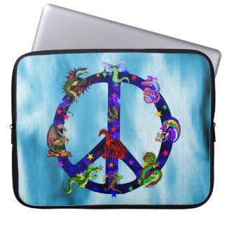Dragons Of Peace Computer Sleeve