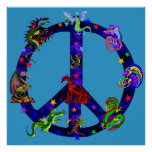 Dragons Of Peace Print