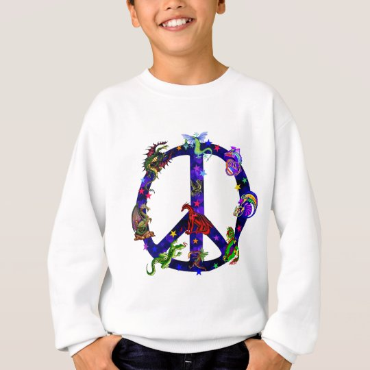 Dragons Of Peace Sweatshirt