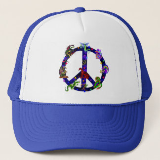 Dragons Of Peace Trucker Hat