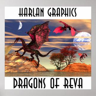 DRAGONS OF REVA POSTERS