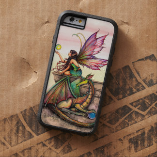 Dragon's Orbs Fairy and Dragon Fantasy Art Tough Xtreme iPhone 6 Case