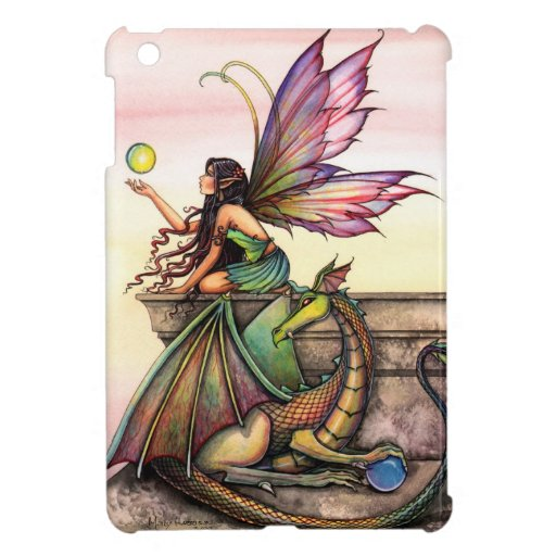 Dragon's Orbs Fairy Dragon Fantasy Art iPad Mini iPad Mini Cover