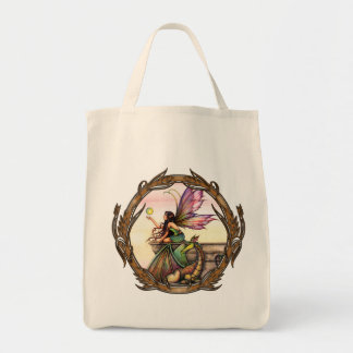 Dragon's Orbs Gothic Fairy and Dragon Tote
