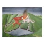 Dragons Over Snowdonia Post Card