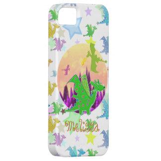 Dragons Pattern customizable name Melissa iPhone SE/5/5s Case