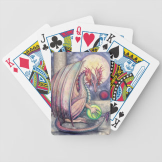 Dragon's Perch Fantasy Art by Molly Harrison Bicycle Playing Cards