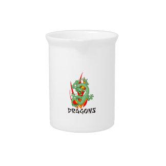 DRAGONS DRINK PITCHER