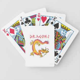 Dragons Bicycle Playing Cards