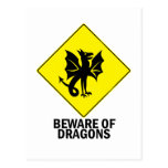 Dragons Post Card