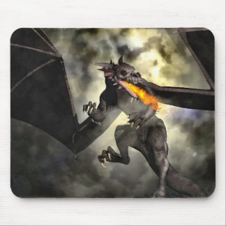Dragon's Power Mouse Pad