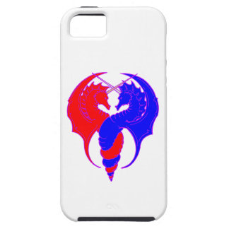 Dragons red blue dragee ONS talk blue iPhone SE/5/5s Case