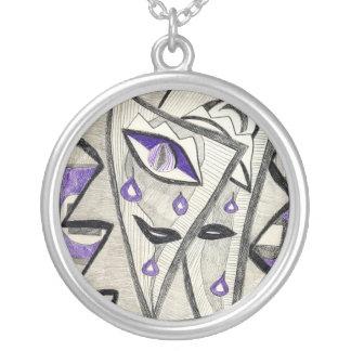 Dragons Round Pendant Necklace