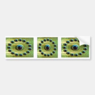 Dragon's Sharp HD Definition Camera Eye Bumper Sticker