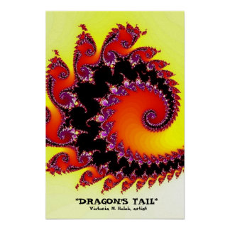 """Dragon's Tail"" Poster"
