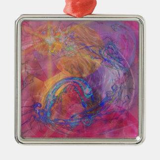 Dragon's Tale Metal Ornament