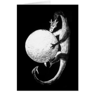 Dragon's Treasure Greeting Card
