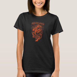 Dragons Wrath Orange T-Shirt