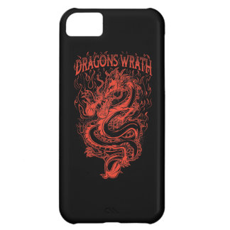 Dragons Wrath Red iPhone 5C Cover