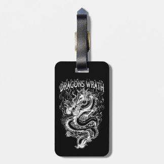 Dragons Wrath White Bag Tag
