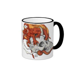 Dragonskull Perch Coffee Mugs