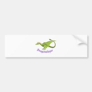 Dragonslayer Bumper Sticker