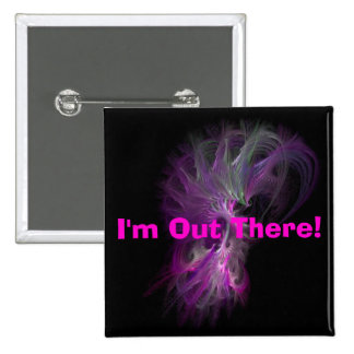 dragonspiral, I'm Out There! Pinback Button