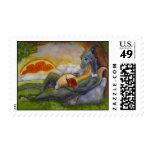 """DragonTales"" Postage Stamp"