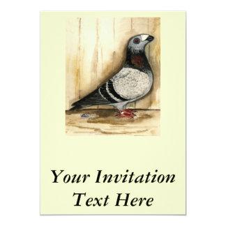 Dragoon Blue Grizzle 5x7 Paper Invitation Card