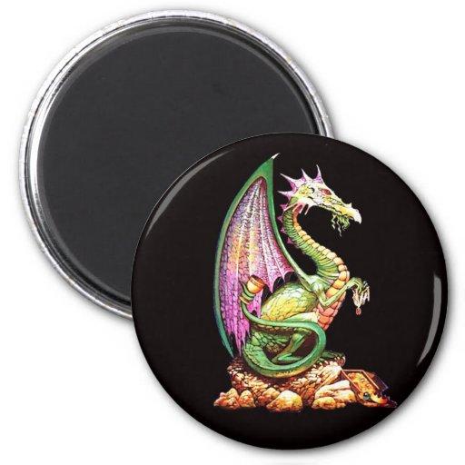 dragoon imán de frigorífico