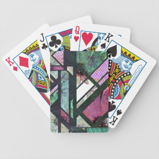 Dragoon to flower bicycle playing cards