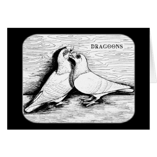 Dragoon White Pair Card