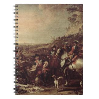 Dragoons montados de Household del rey 1737 oi Libreta Espiral