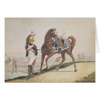 Dragoons of the French Imperial Army Card