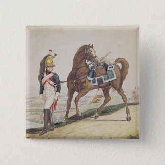 Dragoons of the French Imperial Army Pinback Button